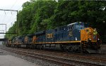 CSX ES44AH 991 temporarily leads Q418-08